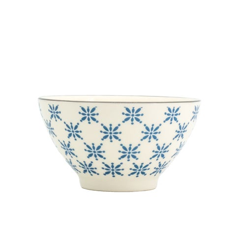 Euro Ceramica Sintra Dining Bowls, Set of 8 - N/A