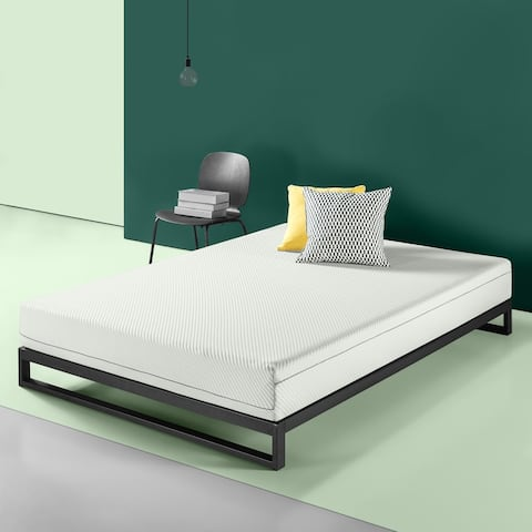 Priage by Zinus 8 Inch Charcoal Memory Foam Mattress