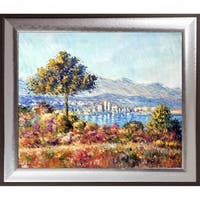 Claude Monet 'Antibes, 1888' Hand Painted Oil Reproduction