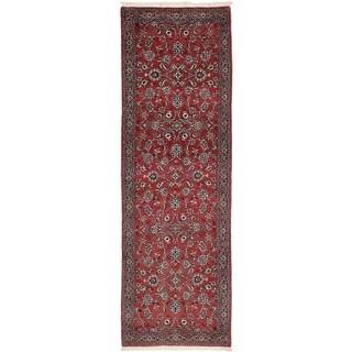 Hand Knotted Bidjar Wool Runner Rug - 2' 5 x 8' 3