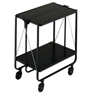LEIFHEIT Fold-Up Side Car Storage & Service Trolley Cart