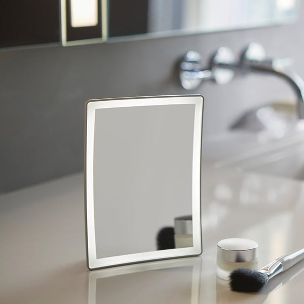 Robern Mirrored Entice Magnification Mirror and Dock ENTICEDOCK