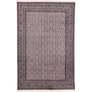 Hand Knotted Bidjar Wool Area Rug - 6' 4 x 9' 8