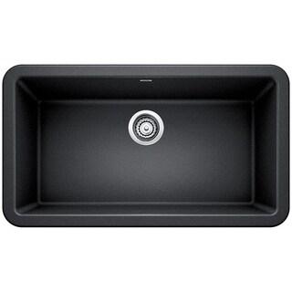 "Blanco SILGRANIT Granite Composite Sink IKON® 33"" Apron Front Anthracite"