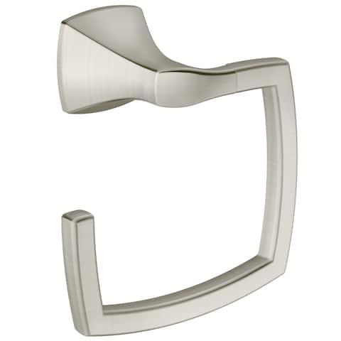 Moen Voss Towel Ring YB5186BN Brushed Nickel
