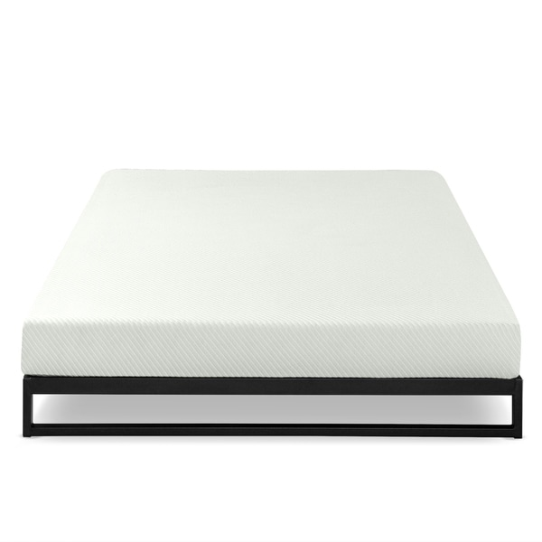 Shop Priage By Zinus 6 Inch Charcoal Memory Foam Mattress Full Size
