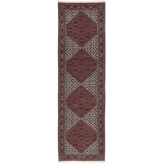 Hand Knotted Bidjar Wool Runner Rug - 2' 10 x 10' 3