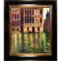 Claude Monet 'Palazzo Dario, 1908' Hand Painted Oil Reproduction