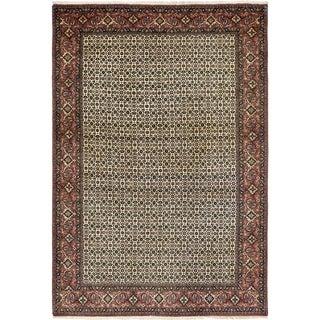 Hand Knotted Bidjar Wool Area Rug - 6' 6 x 9' 8