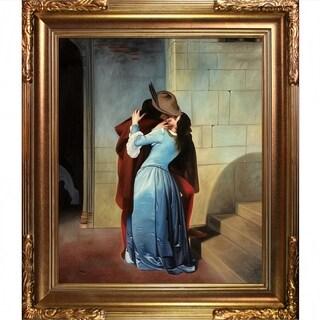 Francesco Hayez 'The Kiss' Hand Painted Oil Reproduction