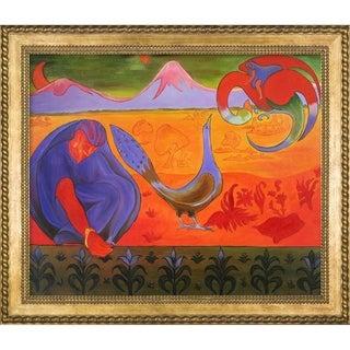 Paul-Elie Ranson 'Nabic Landscape' Hand Painted Oil Reproduction