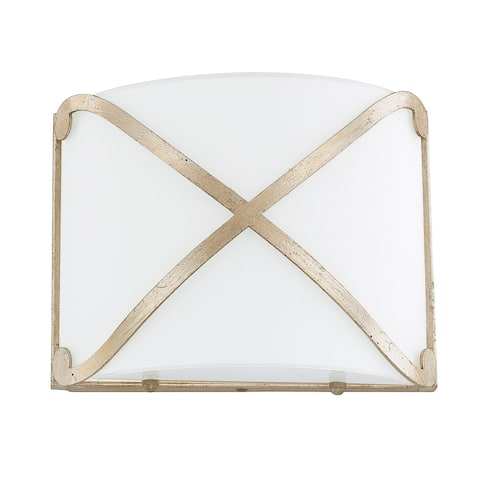 Alexander Winter Gold LED Wall Sconce