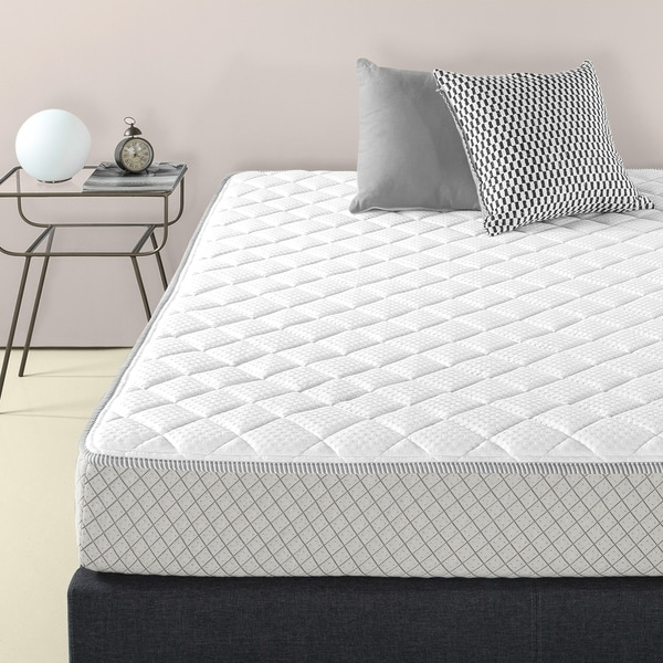 Shop Priage By Zinus Foam Amp Fiber Quilted Mattress Pad Up