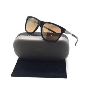 HARLEY DAVIDSON Matte Black Gunmetal Sunglasses / Gold Mirror Lenses HD2006 02G