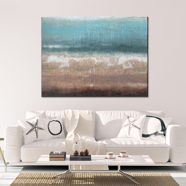 Brown Abstract Canvas Art