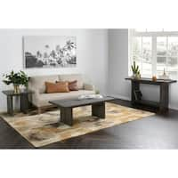 """Avoca  Reclaimed Pine 51"""" Coffee Table by Kosas Home - 18hx51wx27.5d"""