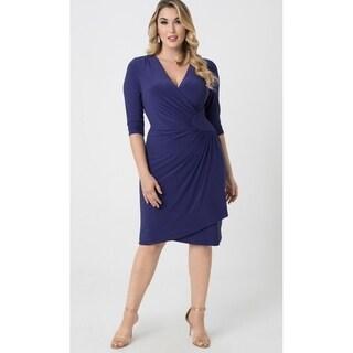 Kiyonna Plus Size Women's Ciara Cinched Dress