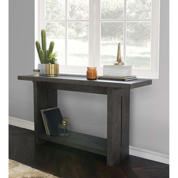 Avoca Reclaimed Pine Console Table By Kosas Home