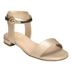 Women's A2 by Aerosoles Down Under Sandal Gold Combo Faux Leather (More options available)
