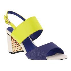 Women's Azura Olgica Colorblock Sandal Lime Multi Synthetic