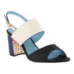 Women's Azura Olgica Colorblock Sandal White Multi Synthetic