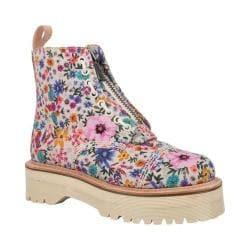 dr martens black & pink daytona desert wanderlust boots