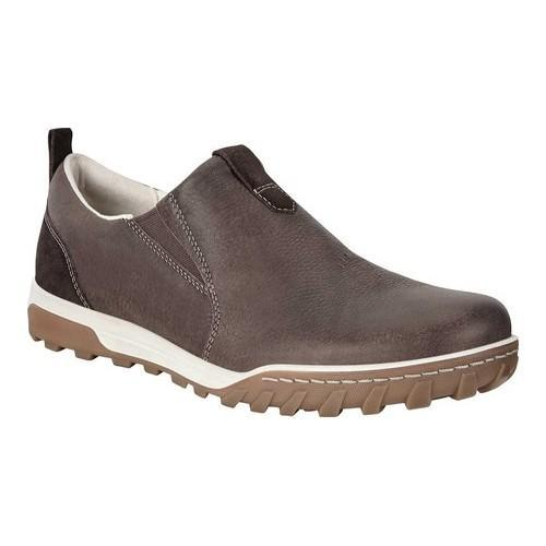 ff0844a71085f Shop Men's ECCO Urban Lifestyle Slip-On Coffee/Licorice Oiled Nubuck - Free  Shipping Today - Overstock - 19574969