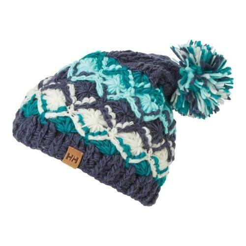 Women's Helly Hansen Wool Knit Beanie Graphite (Grey) Blu...