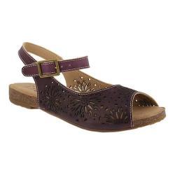 Women's L'Artiste by Spring Step Shiela Slingback Purple Leather