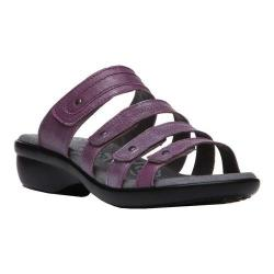 Women's Propet Aurora Slide Ruby Full Grain Leather