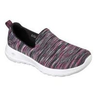 Women's Skechers GOwalk Joy Terrific Walking Shoe Black/Pink