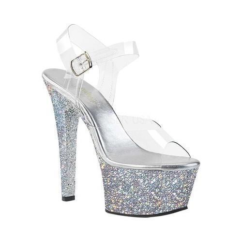 Pleaser Aspire 608LG Platform Sandal (Women's)