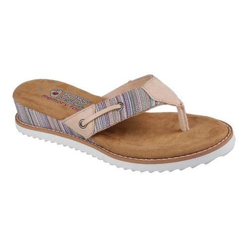 7f28875b71c1 Shop Women s Skechers BOBS Desert Kiss Bohemian Thong Sandal Pink Multi -  Free Shipping On Orders Over  45 - Overstock - 19552421