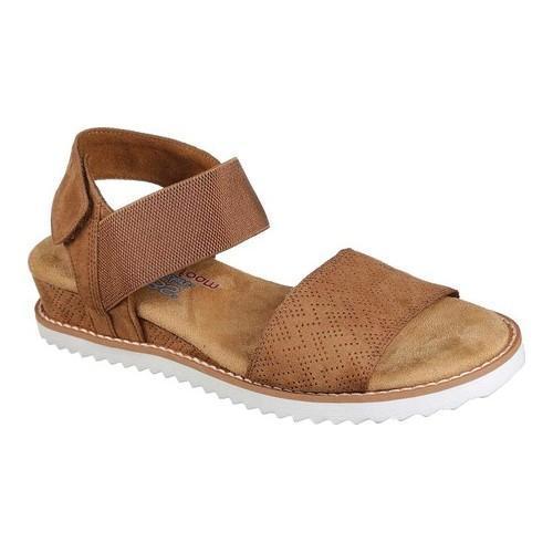 246c022b71fa Shop Women s Skechers BOBS Desert Kiss Slingback Sandal Chestnut ...