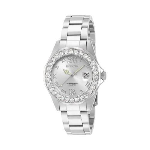 Shop Women s Invicta Pro Diver Watch Stainless Steel Silver - Free Shipping  Today - Overstock - 19582049 a09364a74