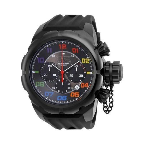 Men's Invicta Russian Diver 22421 Black Silicone (One Size)