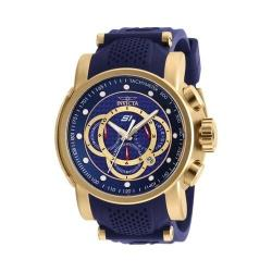 Men's Invicta S1 Rally 19330 Watch Gold/Blue