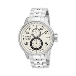 Men's Invicta S1 Rally 23058 Watch Stainless Steel/Ivory