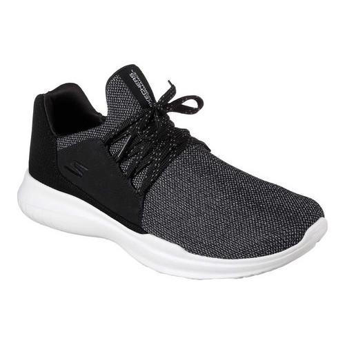 Shop Men s Skechers GOrun MOJO Verve Trainer Black White - Free Shipping  Today - Overstock.com - 19552496 69c3b6cfe3910
