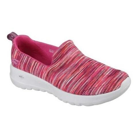 Women's Skechers GOwalk Joy Terrific Walking Shoe Pink/Multi