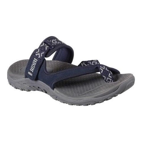 Women's Skechers Reggae Trailway Navy/Gray