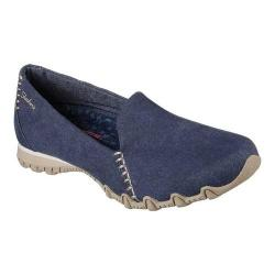 Women's Skechers Relaxed Fit Bikers Smokin Slip-On Shoe Navy