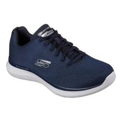 Men's Skechers Relaxed Fit Quantum Flex Rood Sneaker Navy/Gray (More options available)