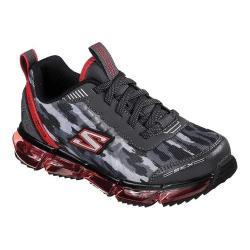 Boys' Skechers Skech-Air Mega Sneaker Charcoal/Red