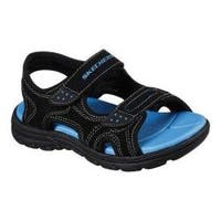 Boys' Skechers Supreme Summer Break River Sandal Black