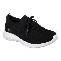 Women's Skechers Ultra Flex Statements Sneaker Black/White