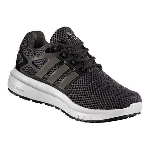 cheaper 7144a a3f07 Shop Womens adidas Energy Cloud V 2-Tone Lenticular Mesh Running Shoe  Utility Black F16Trace Grey MetallicCore Black - Free Shipping On Orders  Over 45 ...