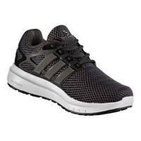 Women's adidas Energy Cloud V 2-Tone Lenticular Mesh Running Shoe Utility Black F16/Trace Grey Metallic/Core Black