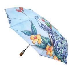 Women's Anuschka 3100 Umbrella Blue Midnight Peacock