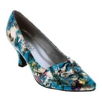 Women's Bellini Charm Pump Blue Floral